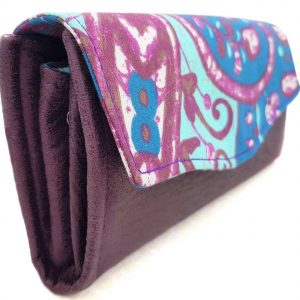 Clutch Wallet – Purse (Up-cycled Fabrics)