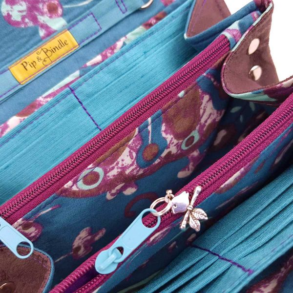 Clutch Wallet - Purse (Up-cycled Fabrics)