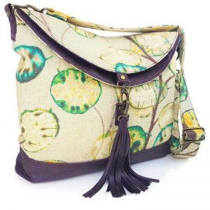Hobo Bag Large (Seed Print & Faux Leather)