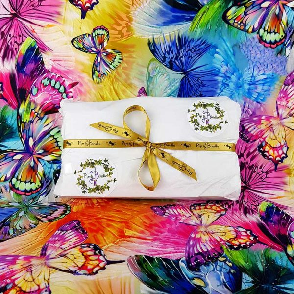 Stunning clutch wallet purse beautifully wrapped ready for the customer