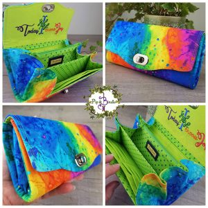 Clutch Wallet – Purse (Over the Rainbow)