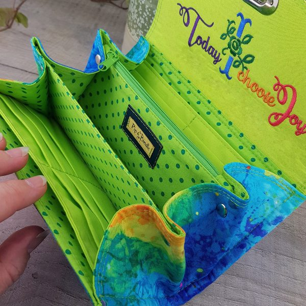This purse really is a celebration of colour and of shining bright and standing out - just like Rainbows